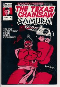 THE TEXAS CHAINSAW SAMURAI #1 Solson Comics ~ VF/NM (HX191)