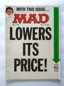 MAD Magazine Dec 1975 # 179 Funny Lady Barbra Streisand Movie Parody Shampoo