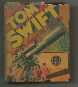 Tom Swift + His Giant Telescope ORIGINAL Vintage 1939 Whitman Big Little Book