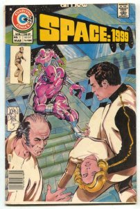 Space: 1999 #3 1976- Charlton- John Byrne VF-
