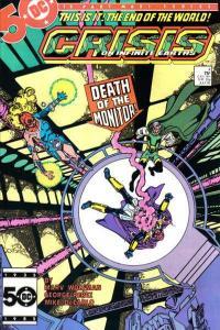 Crisis on Infinite Earths #4, NM- (Stock photo)