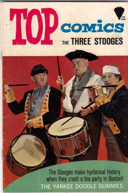 Three Stooges, The #55 (Jan-72) FR/GD Affordable-Grade Larry, Moe, Curly-Joe