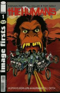 Humans, The #1 (2nd) VF/NM; Image   save on shipping - details inside