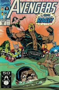 Avengers, The #328 VF/NM; Marvel   save on shipping - details inside