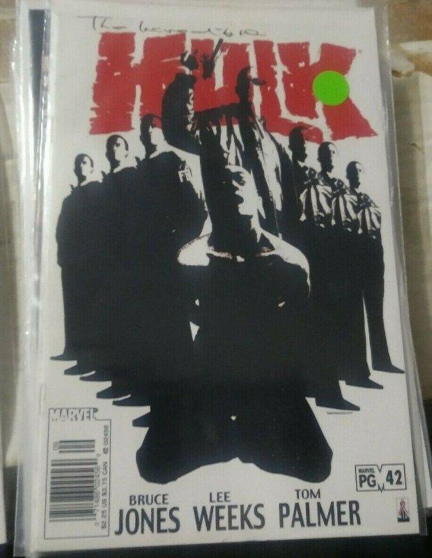 Incredible Hulk  # 42 2002, Marvel monster bruce banner immortal