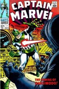 Captain Marvel #7 (1968 1st Series Marvel) stock photo / CSM