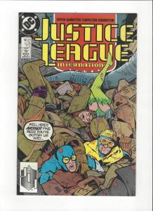 Justice League International #21 1987 DC Comics Copper Age  NM