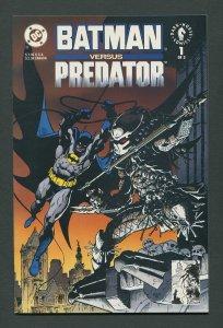 Batman vs Predator #1 / 9.4 NM  Newsstand  December 1991