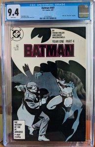 Batman #407. CGC 9.4.