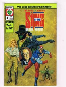 Sting Of The Green Hornet #4 VF Now Comics Comic Book Sept 1992 DE40 AD14
