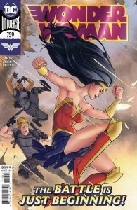 WONDER WOMAN #759 NM COVER A PRESELL 7/28/20