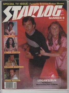STARLOG MAGAZINE #9 VG A04934