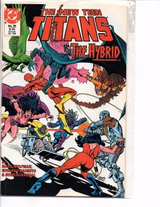 DC Comics New Teen Titans #25 Flash, Cyborg, Wonder Girl Marv Wolfman Story