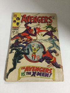 Avengers 53 Gd/Vg Good/Very Good 3.0 Marvel Comics Silver Age