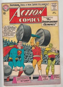 Action Comics #304 (Sep-63) FN+ Mid-High-Grade Superman
