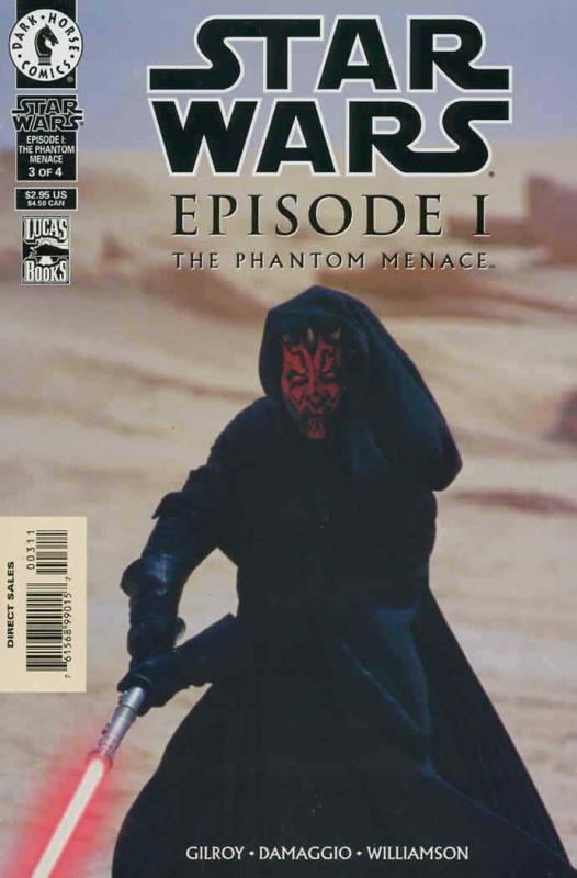 Star Wars: Episode I The Phantom Menace #3SC VF/NM; Dark Horse | save on shippin