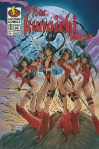 Four Kunoichi, The: Bloodlust #1 VF/NM; Lightning | save on shipping - details i
