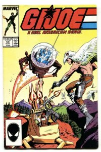 G.I. JOE #59 1987 1st JINX comic book Marvel