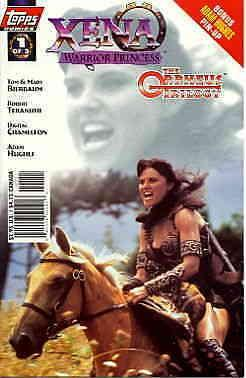 Xena: Warrior Princess: The Orpheus Trilogy #1SC VF/NM Topps - save on shipping