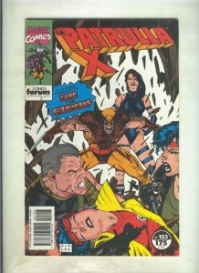 La Patrulla X volumen 1 numero 103: La caza del cazador