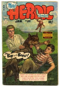 Heroic #89 1954- Famous Funnies Golden Age VG