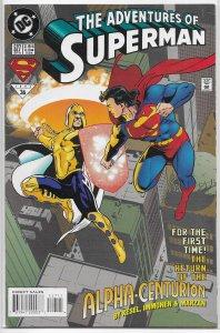 Adventures of Superman   vol. 1   #527 FN