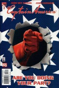 Captain America (2002 series) #3, NM- (Stock photo)