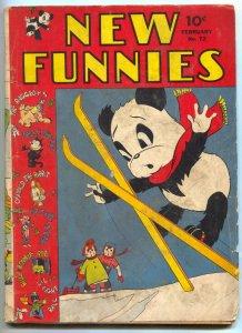 New Funnies #72 1943- Raggedy Ann- Felix the Cat- Golden Age G+