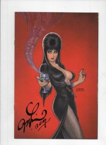 ELVIRA Mistress of the Dark #4 G, VF, Dynamite, 2018 2019, Signed Linsner cover