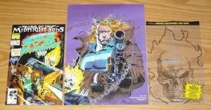 Ghost Rider & Blaze: Spirits of Vengeance #1 VF/NM signed & numbered adam kubert
