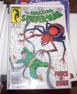 Amazing Spider-Man #  296 doctor octopus+ black suit