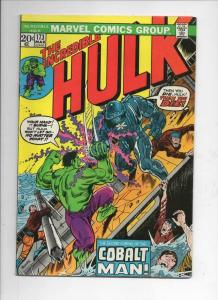 HULK #173, VG+, Incredible, Bruce Banner, Colalt Man, 1968 1974, more in store