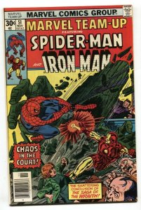 Marvel Team-up #51 1976 SPIDER-MAN AND IRON MAN NM-