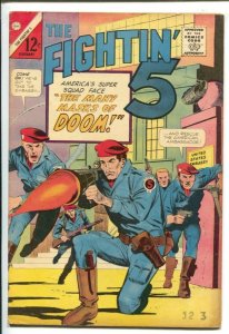 The Fightin' 5 #31 1965-Charlton--America's Super Squad-Many Masks of Doom-V...