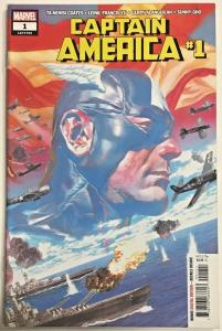 CAPTAIN AMERICA#1 VF/NM 2018 TA-NEHISI COATES MARVEL COMICS
