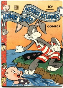 LOONEY TUNES AND MERRIE MELODIES #35-1944-BUGS BUNNY-PORKY PIG-DELL