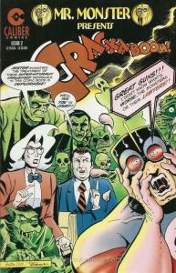 Mr. Monster Presents (Crack-A-Boom!) #2 VF; Caliber | save on shipping - details