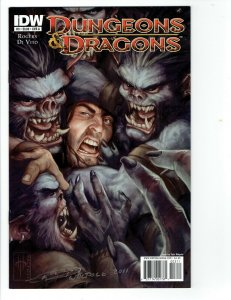 Dungeons And Dragons #3A VF; IDW Tyler Walpole cover