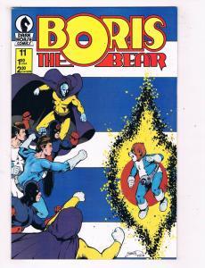 Boris The Bear #11 VF/NM Dark Horse Comics Copper Age Comic Book 1987 DE47 AD33