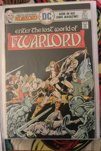 The Warlord #1 (Feb 1976, DC) NM