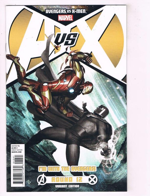 Avengers Vs. X-Men # 12 NM 1st Print Team Variant Marvel Comic Book Storm BN10