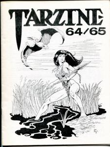 Tarzine #65 5/1988-Bill Ross-Edgar Rice Burroughs-Tarzan-Dave Hooover-VF