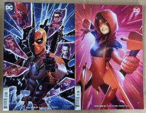 Teen Titans Vol.6 #29 & 30 Variant Covers (2016 DC)