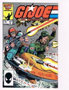 G.I. Joe # 47 Marvel Comic Books Awesome Issue Snake Eyes Destro Cobra WOW!! S26