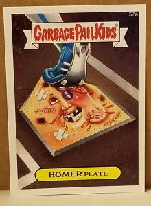 2015 Garbage Pail Kids  #57a Homer Plate