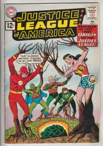 Justice League of America #9 (Feb-61) FN+ Mid-High-Grade Justice League of Am...