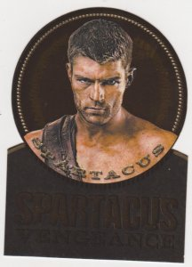 2013 Spartacus Vengeance Die-Cut Gold Plaque #GV1 Spartacus