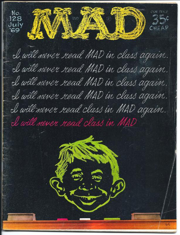 Mad No. 128,  July, 1969 (FN)