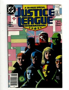 Lot of 14 JLI DC Comic Books #7 12 14 15 16 17 18 19 20 21 22 23 Annual 1 2 GB1