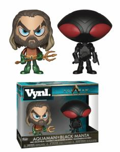 Funko Vynl DC Movie Aquaman & Black Manta Vinyl Figures 2Pk - New!